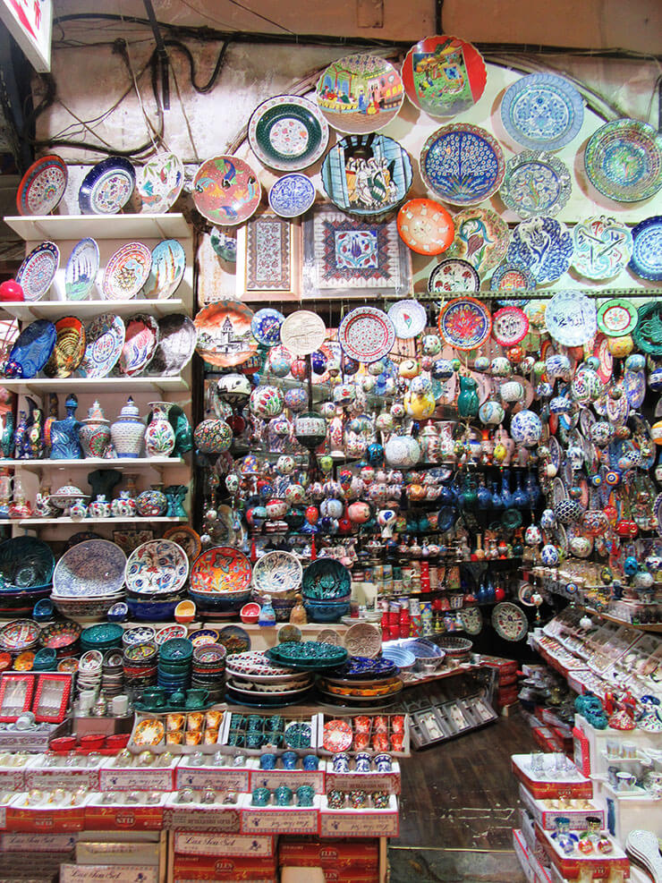 Istambul Turquia Grand Bazar