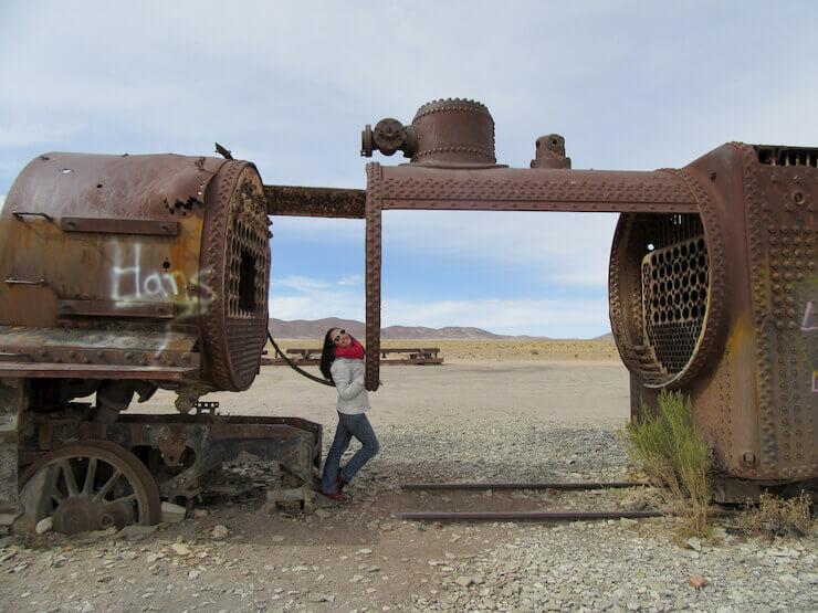 Cemitério de Trens Bolivia