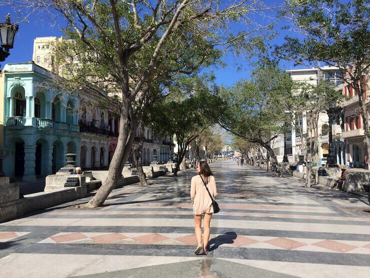 Paseo del Prado Habana