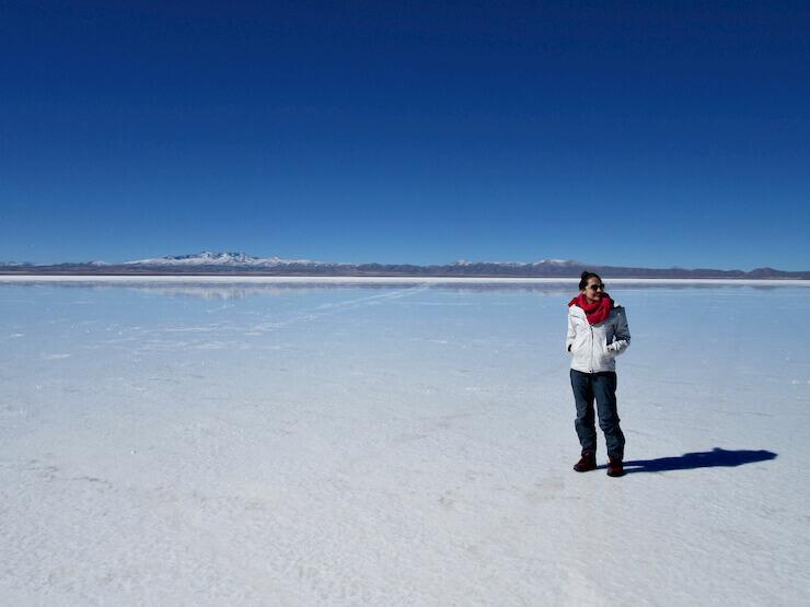 Salar de Uyuni Cordilheira dos Andes