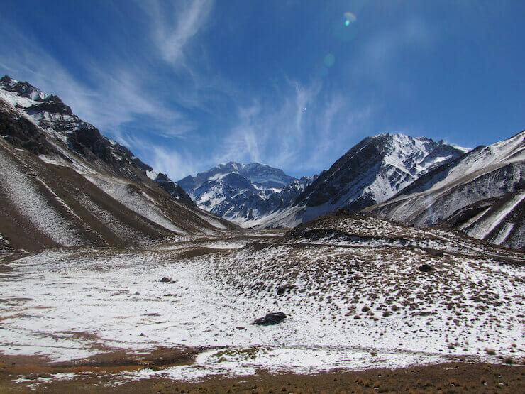 Cordilheira dos Andes Aconcágua