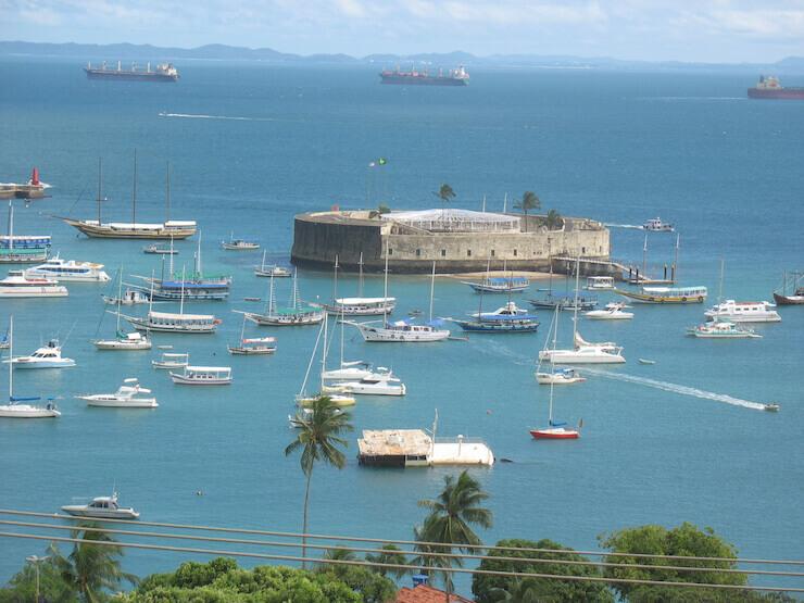 Forte São Marcelo Salvador