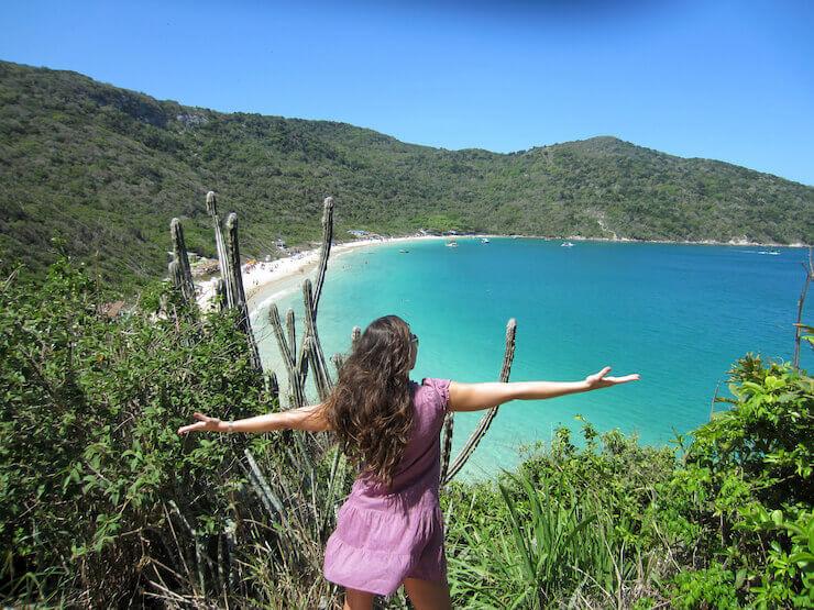 Trilha Praia do Forno