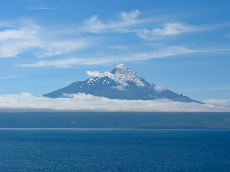 Vulcão Osorno Lagos Andinos
