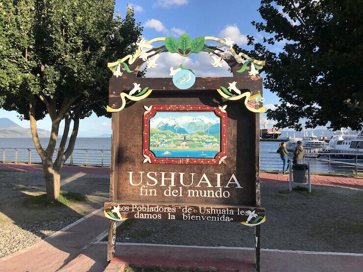 Porto Ushuaia Placa