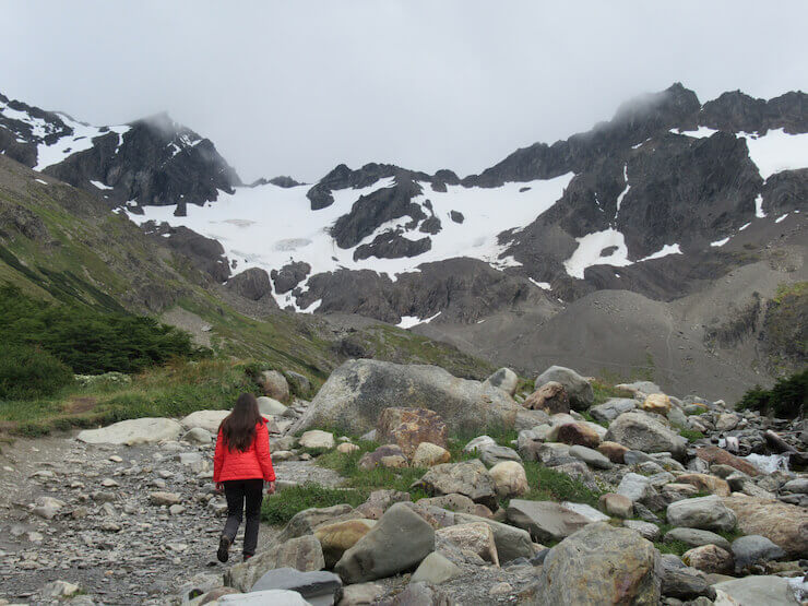 Roteiro Ushuaia Glaciar Martial