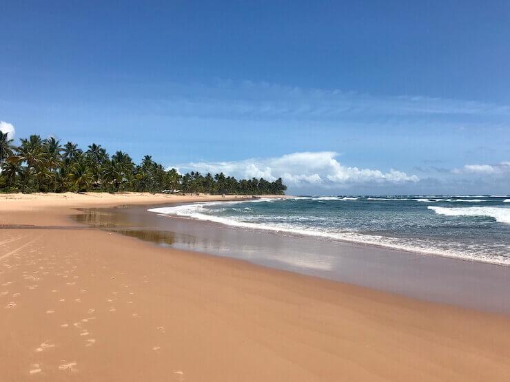Praia de Algodões Bahia