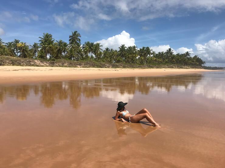 Praia de Algodões Península de Maraú