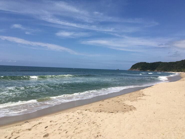 Barra do Una melhores praias de são sebastião