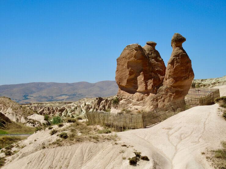 Camel Rock Capadocia Turkey