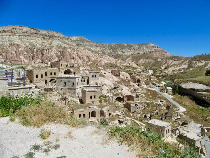 Cavusin Capadocia Greek Village