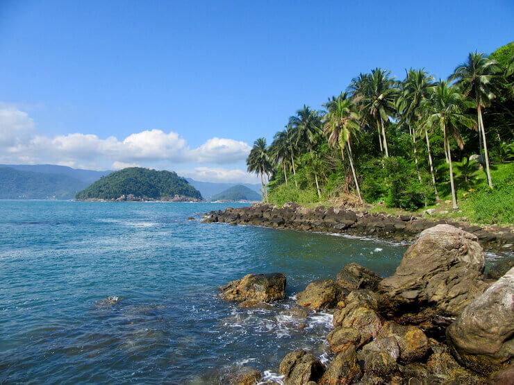 melhores praias de São Sebastião