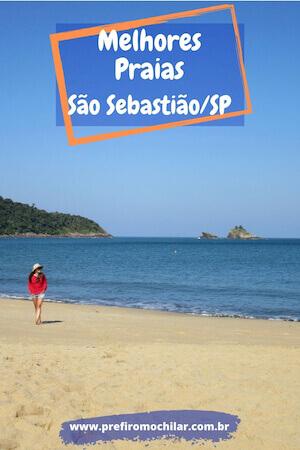 As melhores praias de São Sebastião