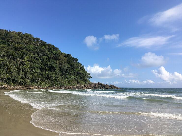 Praia da Juréia São Sebastião