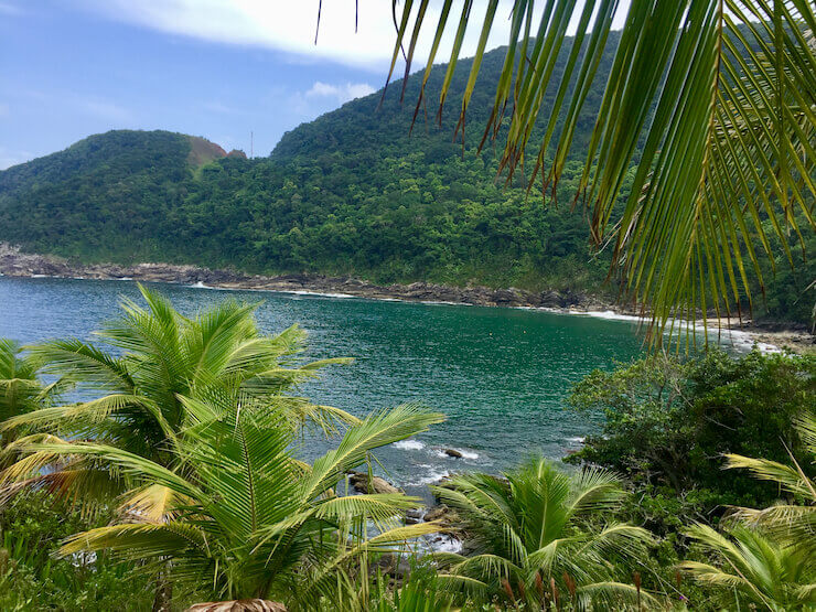 Praia das Calhetas Melhores praias de São Sebastião
