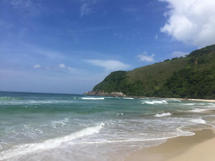 as melhores praias de são sebastião maresias