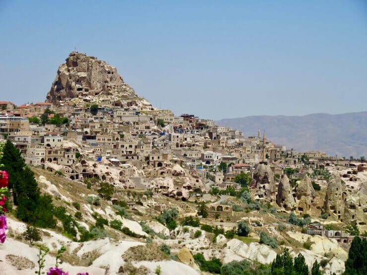 Quanto custa viajar para Capadócia Uçhisar Castle