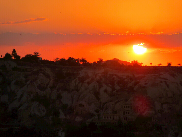 Sunset View Point Goreme Capadocia