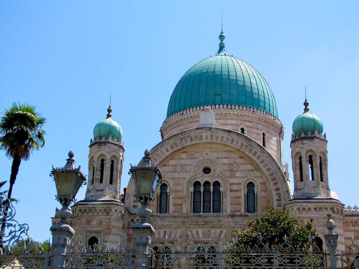 Dicas de Florença Sinagoga