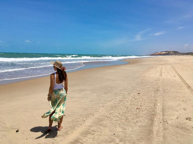 Lugares para conhecer no Ceará Morro Branco