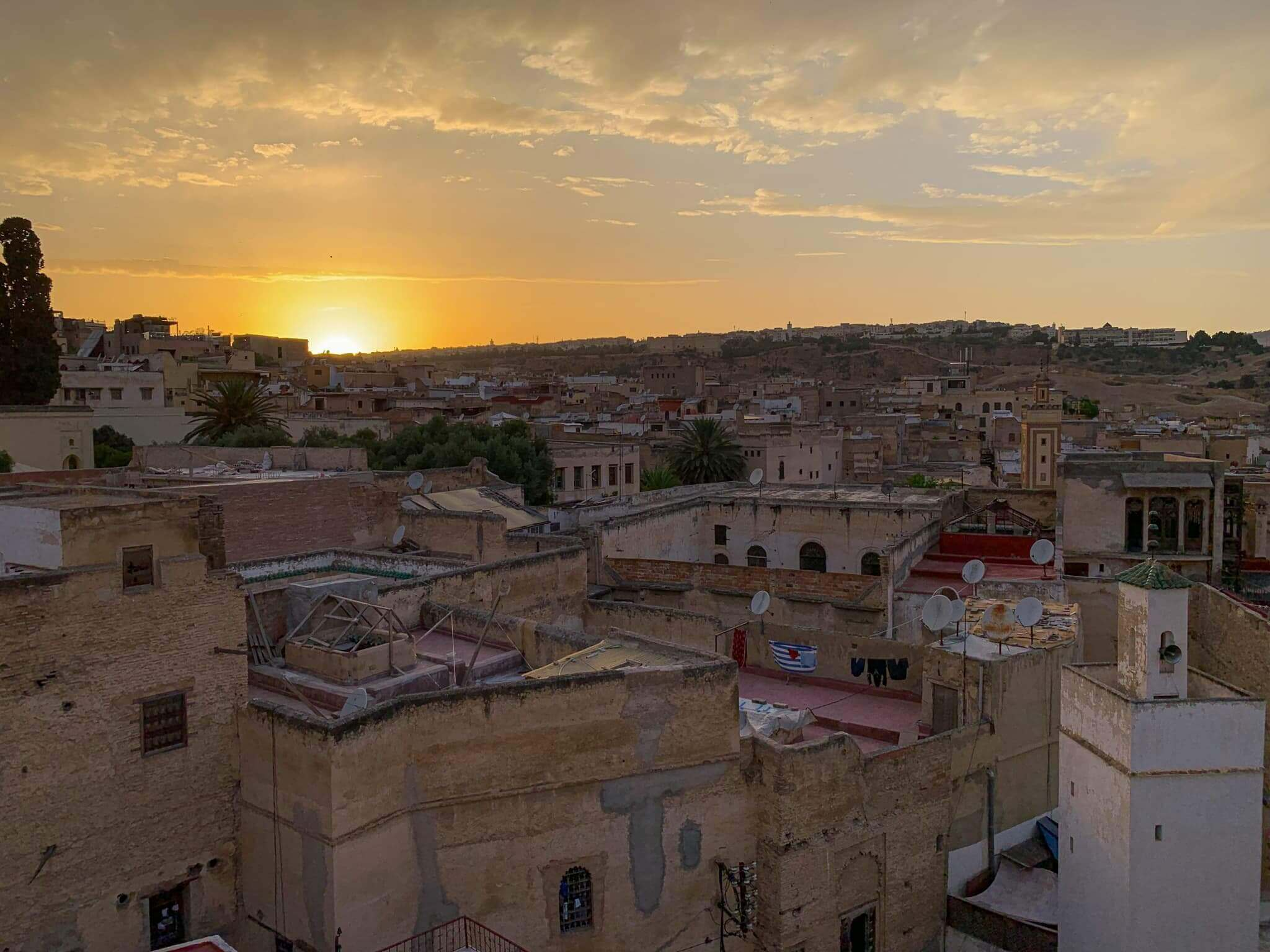 Fez Medina Sunset