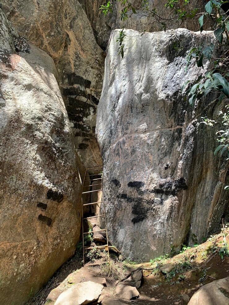 Complexo do Baú trilhas