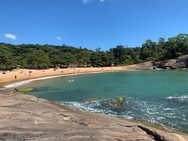 Praia dos Padres Guarapari ES
