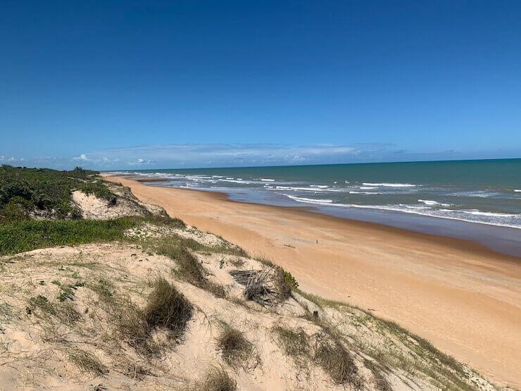 Praia do Riacho Doce ES
