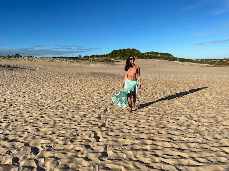Praia de Itaúnas ES